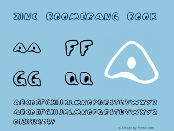 Zinc Boomerang Book Version Frog: 3.9.99 1.0图片样张