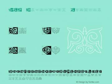 PRT Ornament2 Regular OTF 1.0;PS 001.001;Core 116;AOCW 1.0 161 Font Sample