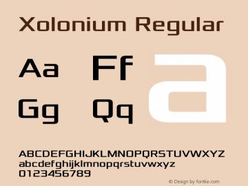 Xolonium Regular Version 4.0图片样张
