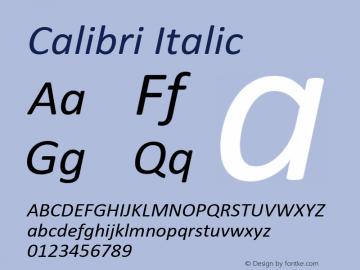 Calibri Font,Calibri Italic Font,Calibri-Italic Font|Calibri Italic