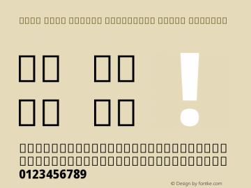 Noto Sans Arabic Condensed Extra Regular Version 1.902图片样张