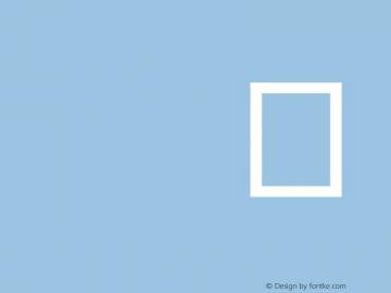 IS Sans Serif Normal Version 001.000 Font Sample