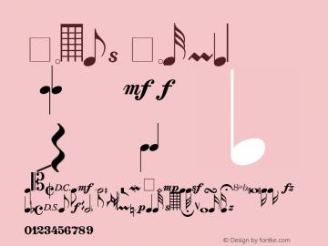 Notes Normal 1.0 Wed Jul 28 15:14:41 1993 Font Sample