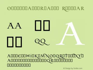 OdysseyAlternates Regular v2.1;com.myfonts.easy.timrolands.odyssey.alternates.wfkit2.version.3P1N图片样张