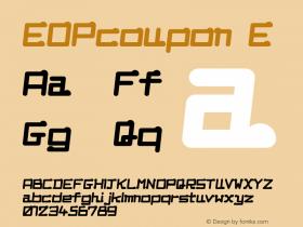 EOPcoupon E Macromedia Fon