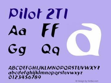 Pilot 2TI 001.000 Font Sample