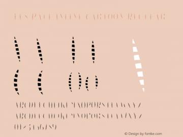 Les Paul Inline Cartoon Regular Version 1.000;PS 001.000;hotconv 1.0.70;makeotf.lib2.5.58329 DEVELOPMENT图片样张
