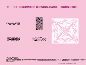 c0SMic Celtic Designs Regular 7/7/98图片样张