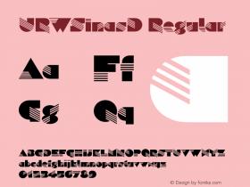 URWSinasD Regular Version 001.005图片样张