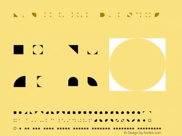 Designing Regular Version 1.0 Font Sample