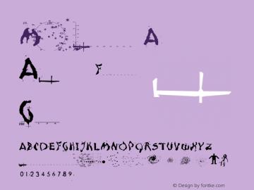 Moonscape A Macromedia Fontographer 4.1 12/19/97 Font Sample
