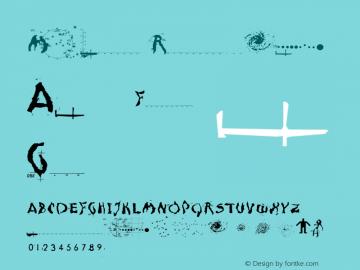 Moonscape Regular Version 001.000 Font Sample