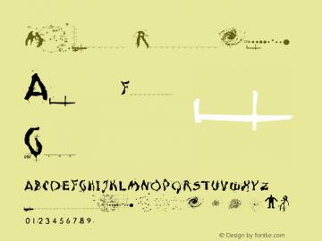 Moonscape Regular 001.000 Font Sample