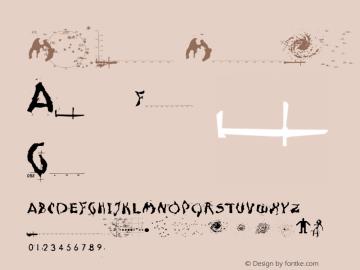 Moonscape Medium 001.000 Font Sample
