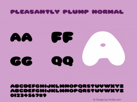 Pleasantly Plump Normal 1.0 Tue Jan 11 18:43:35 1994图片样张