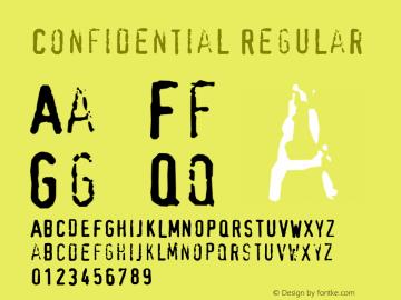 Confidential Regular 001.000图片样张