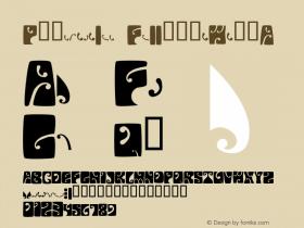 Psychedelic FillmoreWestA Macromedia Fontographer 4.1 12/19/97图片样张