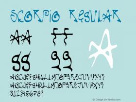 Scorpio Regular Version 001.000图片样张