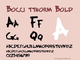 Bocci ttnorm Bold Altsys Metamorphosis:10/27/94图片样张
