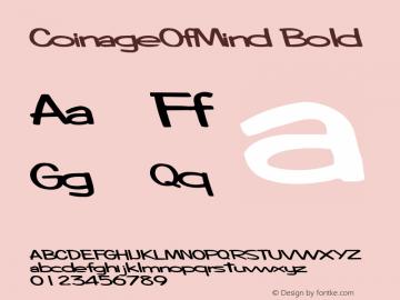CoinageOfMind Bold Altsys Metamorphosis:10/28/94图片样张