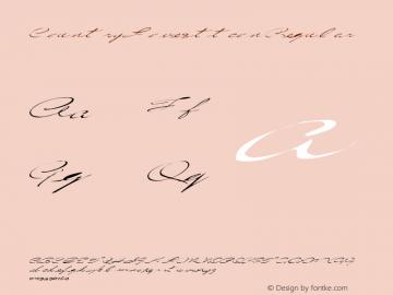 CountryLove3 ttcon Regular Altsys Metamorphosis:10/27/94 Font Sample