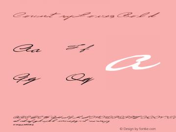 CountryLove3 Bold Altsys Metamorphosis:10/28/94 Font Sample