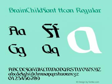 BrainChildFont ttcon Regular Altsys Metamorphosis:10/27/94图片样张