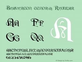 Beaverton ttnorm Regular Altsys Metamorphosis:10/27/94 Font Sample