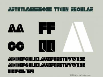 ArtyTimesReg52 ttcon Regular Altsys Metamorphosis:10/27/94图片样张