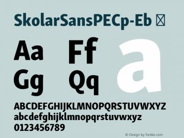 SkolarSansPECp-Eb ☞ Version 2.004;PS 2.003;hotconv 1.0.88;makeotf.lib2.5.647800; ttfautohint (v1.5);com.myfonts.easy.rosetta.skolar-sans-pe.compressed-extrabold.wfkit2.version.4FuG Font Sample