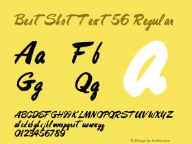 BestShotText56 Regular Altsys Metamorphosis:10/27/94图片样张