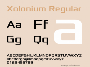 Xolonium Regular Version 4.1图片样张