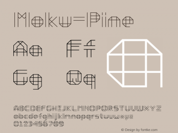 Moku-Pine ☞ Version 3.000;com.myfonts.easy.ethan-is-sweet.moku26.pine.wfkit2.version.4G33图片样张