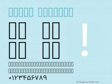 Vazir Regular Version 6.3.2 Font Sample