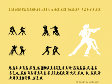 LinotypeTangomaniacsW95-Night Regular Version 2.00图片样张