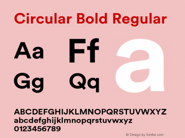 Circular Bold Font,Circular Font,Circular-Bold Font|Circular