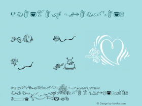 Cantoni Ornaments ☞ com.myfonts.easy.debi-sementelli.cantoni.ornaments.wfkit2.version.43rK Font Sample