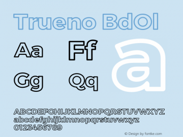 Trueno BdOl Version 3.001b图片样张
