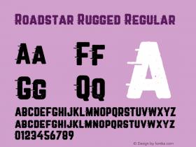 Roadstar Rugged Regular Version 1.031图片样张