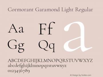 Cormorant Garamond Light Font,Cormorant Garamond Font