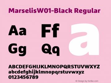 MarselisW01-Black Regular Version 7.504图片样张