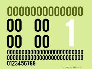 Bebas Regular Version 1.00 December 16, 2015, initial release Font Sample