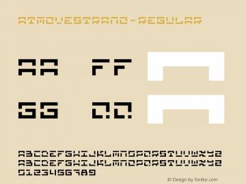 ATMoveStrano-Regular ☞ Version 1.001;PS 001.001;hotconv 1.0.56;makeotf.lib2.0.21325;com.myfonts.easy.sodesign.at-move-strano.regular.wfkit2.version.46c7图片样张