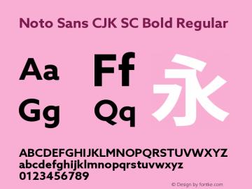 Noto Sans CJK SC Bold Font,Noto Sans CJK SC Font,NotoSansCJKsc-Bold