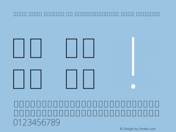 Noto Sans Arabic UI SemiCondensed Thin Regular Version 1.900图片样张