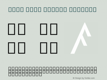 Noto Sans Rejang Regular Version 1.901 Font Sample
