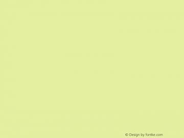 헤움버블S Regular Version 1.00 Font Sample