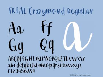 TRIAL Crazymond Regular Version 1.000图片样张