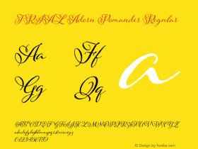 TRIAL Adorn Pomander Regular Version 1.000 Font Sample