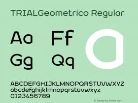 TRIALGeometrico Regular Version 1.001图片样张